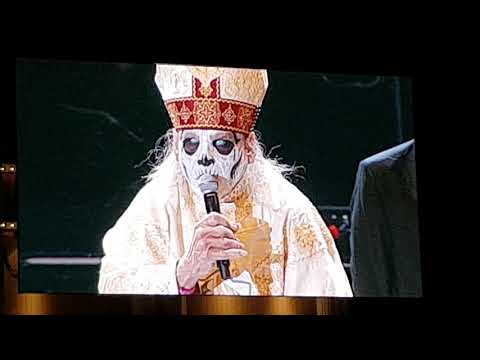 Is this the new papa emeritus? Papa Emeritus IV?