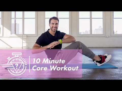 10 Minute Core Workout with Nic Palladino | #GUESSActive
