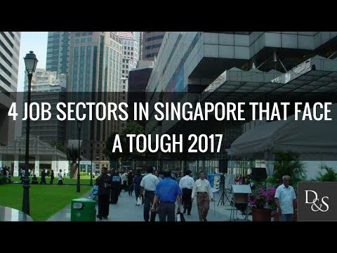 Career Advice: 4 Job Sectors In Singapore That Face A Tough 2017