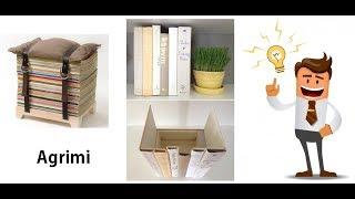 Baixar idee con i vecchi libri - book art - riciclo creativo - handmade riciclare vecchi libri