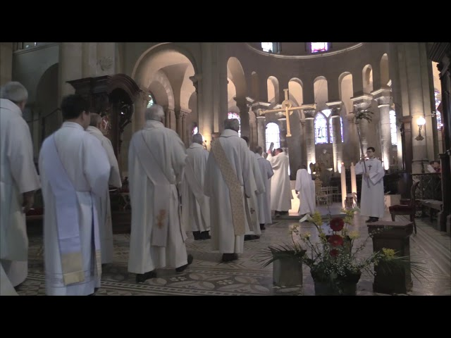 Messe Chrismale 2018  Procession