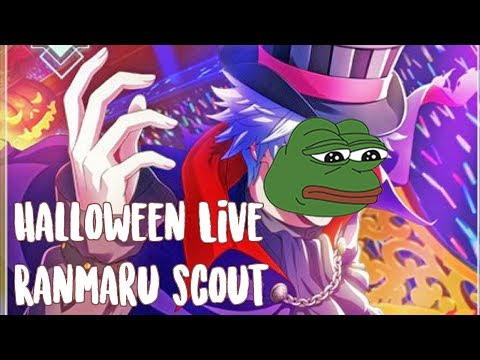Real depression hours-Magical Halloween Live Ranmaru Scout Utapri Shining Live (lol 900 prisms)