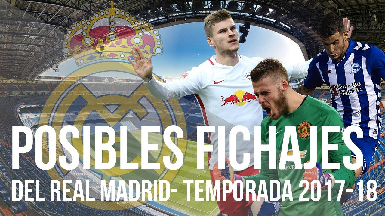 ebe6ea237508b Rumores y Posibles FICHAJES del REAL MADRID para la Temporada 2017-2018