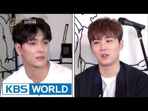 Lee Hongki disses Choi Jonghoon who is in love [Happy Together / 2017.08.03]