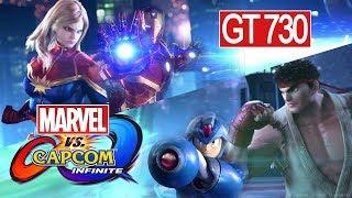 Marvel VS Capcom: Infinite   GT 730 2GB DDR5   4GB Ram Gameplay