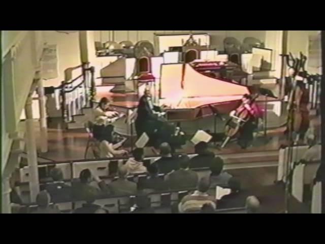 Bach: Harpsichord Concerto #1 in D Minor