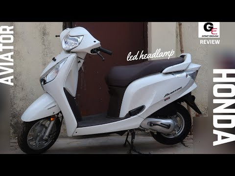 2018 Honda Aviator   led headlamp   detailed review   price   features   specifications !!