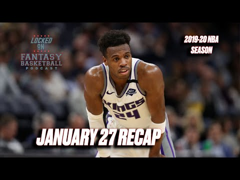LeVert Ends The Green Team || NBA Fantasy Basketball Recap from YouTube · Duration:  41 minutes 45 seconds