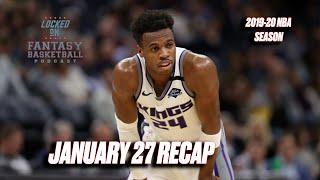 Buddy Off The Bench || NBA Fantasy Basketball Recap