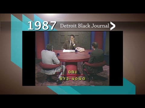 1987 Detroit Black Journal Clip: The Psychological Impact Of Slavery On African Americans