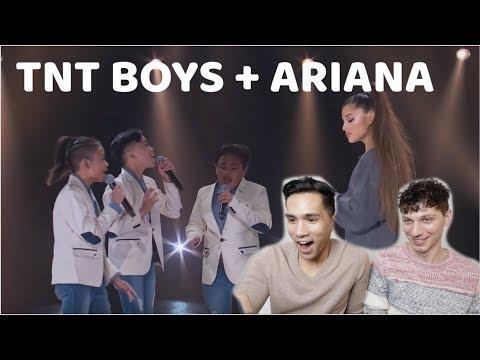 TNT BOYS MEET ARIANA GRANDE!!! | REACTION