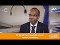 Dr Patel explains bowel cancer screening