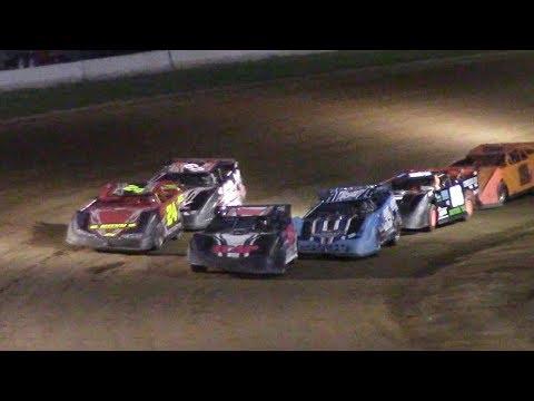 RUSH Crate Late Model Heat One | McKean County Raceway | 6-20-17