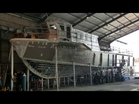 24m Aluminium Hull Crew/Supply Transporter