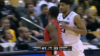 Auburn Men's Basketball vs Missouri Highlights