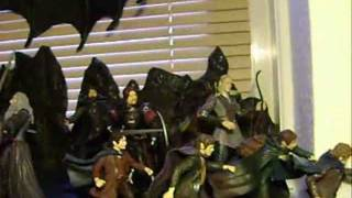 Lord of the Rings Action Figure Collection.