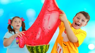 Ali's Giant Watermelon slime