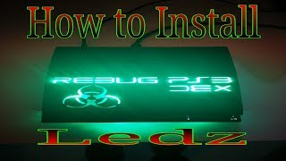 How To Install Ledz in a PS3 Slim CFW/HEN/OFW
