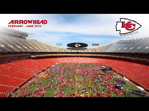 EarthCam Time-Lapse Of Kansas City Chiefs' Arrowhead Stadium
