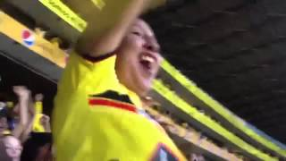 Barcelona SC vs D.Quito - Gol de Matamoros *Cuidado con la Bandera !