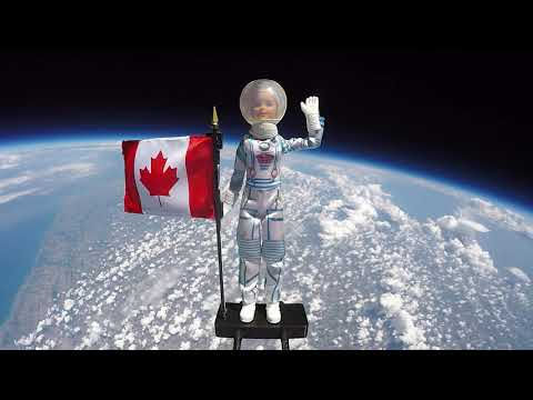 Astronaut Barbie launched into space