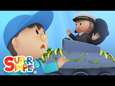 Captain Mary's Submarine | Carl's Car Wash  Ep. 11 | Cartoon for kids