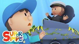 Kapitän Mary ' s U-Boot geht durch die Waschanlage | Karikatur für Kinder