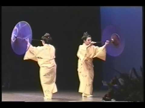 Higasa Odori-Kathy Ota and Frances Nakachi- chu hisa na Senjukai Hawaii