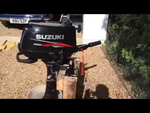 Ny suzuki df6 6hk sweet funnycat tv for Aquos trolling motor review