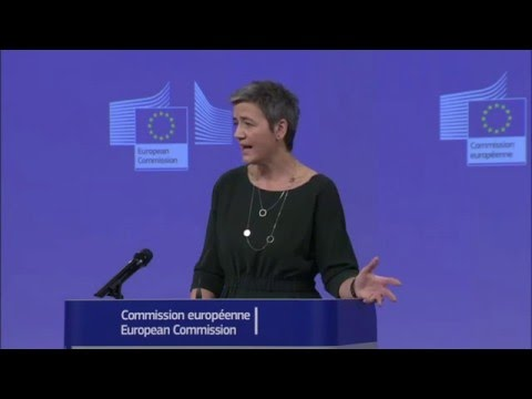 #Competition Commissioner Margrethe Vestager