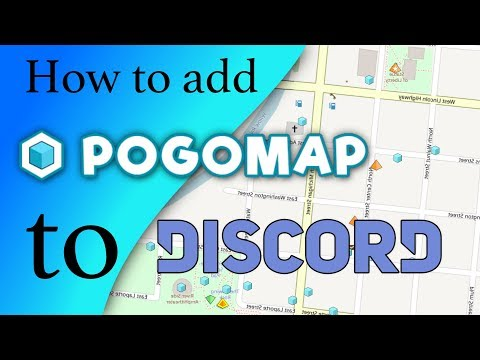 How to set up PogoMap's bot on your discord  - YouTube