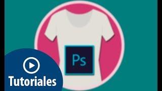 Poner estampado logo marca en ropa Photoshop CS6, CC 2017