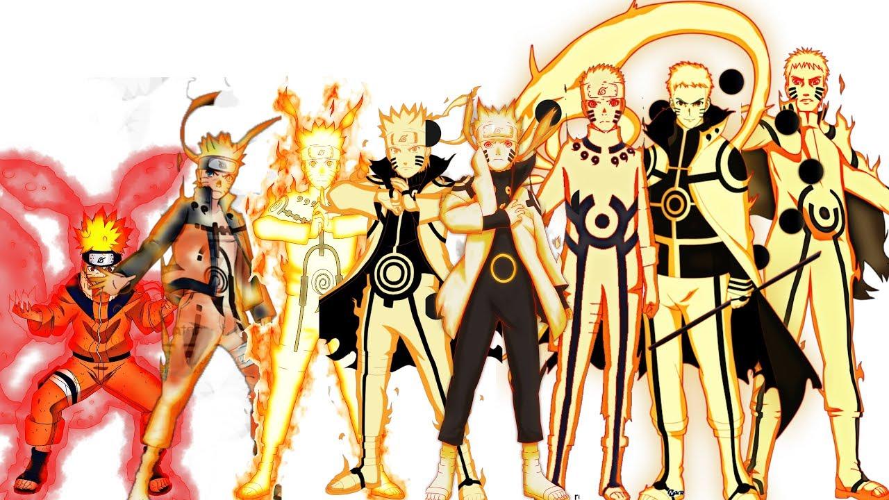Uzumaki naruto characters evolution forms all jutsu - All naruto characters ...
