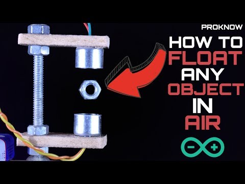 How To Float Any Object In Air Using Arduino | Ultrasonic Levitator | Arduino Project | PROKNOW