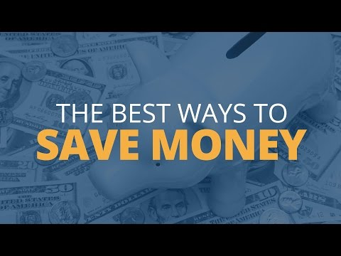 The Absolute Best Ways To Save Money