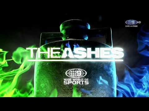 Channel 9 Cricket intro 2017/18 Australia v England The Ashes