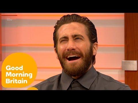 Jake Gyllenhaal Made Ben Shephard Cry | Good Morning Britain