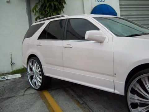 09 Cadillac Srx On 28 Quot S Kandyland Customs Youtube