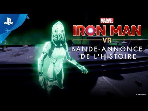 Marvel's Iron Man VR   Bande-annonce de l'histoire   Exclu PlayStation VR