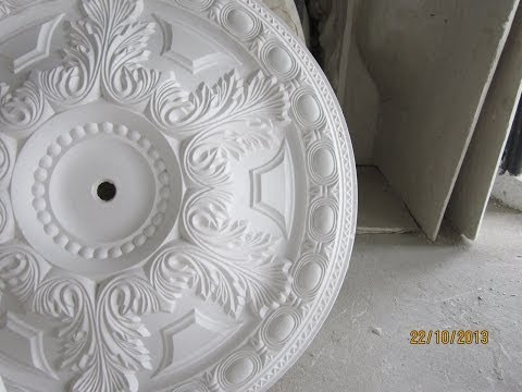 Plaster of Paris interior designs making ( Documentary )