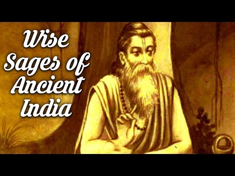 The Wise Sages of Ancient India
