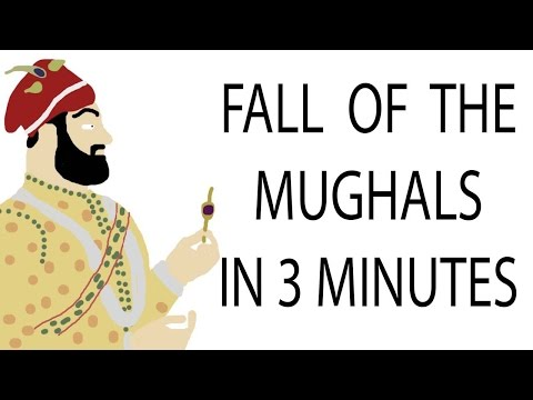 Fall of the Mughals | 3 Minute History