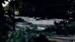 Crysis Gameplay XFX 8800 GT Alpha Dog xxx Edition