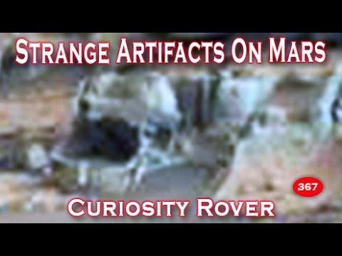 Strange Artifacts On Mars - NASA's Curiosity Rover