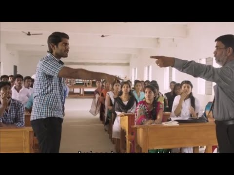 Pariyerum Perumal Law College Scene
