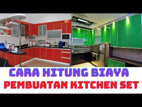 Harga Kitchen Set Aluminium Per Meter Youtube