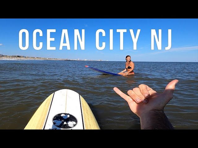 Taylor's Surfing, Pickle Ball and Family Time in OCNJ