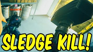 Sledgehammer Kill! - Rainbow Six Siege Funny Moments & Epic Stuff