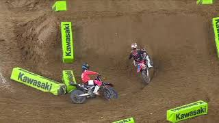 450SX Main Event Highlights - Round 3 - Houston