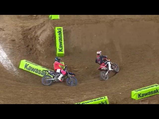 450SX Main Event Highlights - Round 3 - Houston